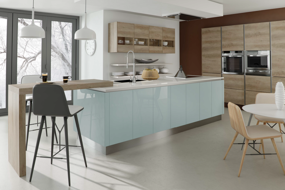 Ashley ann kitchens kitchens blackburn whitehall interiors - Couleur qui va avec le gris ...
